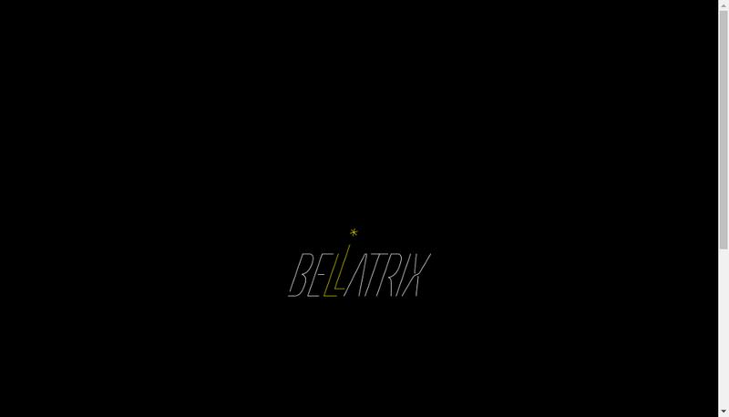 Capture d'écran du site de Bellatrix Bikes
