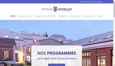 Site internet de Berdugo Immobilier