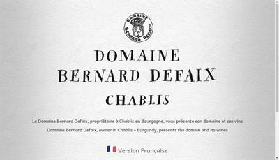 Site internet de Bernard Defaix