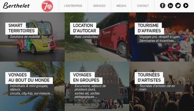 Site internet de Cars Berthelet