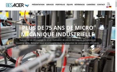 Site internet de Besacier