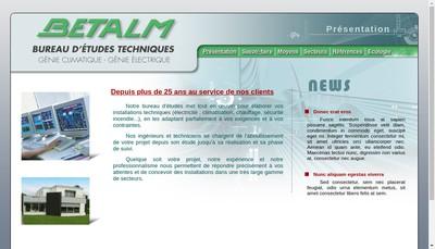 Site internet de Betalm