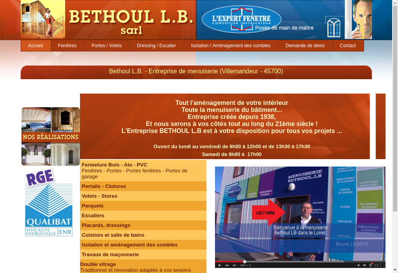 Site internet de Michel Bethoul