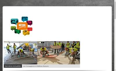 Site internet de Beton Academy