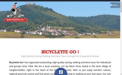 Site internet de Bicyclette Go !