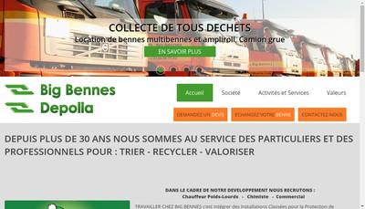 Site internet de Big Bennes - Bigmet