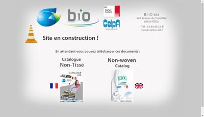 Site internet de BIO SAS Ancienne Blanchisserie Industrielle de l'Oise