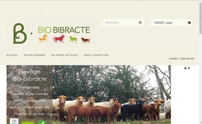 Site internet de SCEA Elevage Bio Bibracte