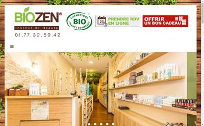 Site internet de Biozen