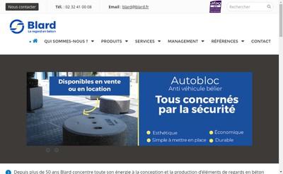 Site internet de Blard