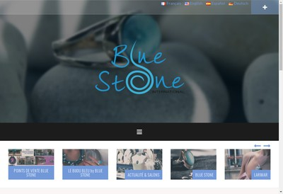 Site internet de Blue Stone International