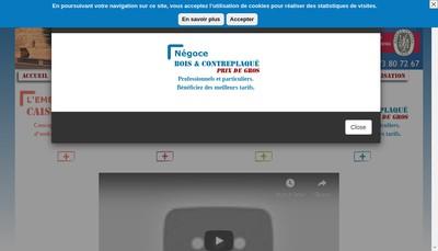 Site internet de Parembal