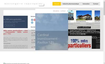 Site internet de Le Pain Perdu