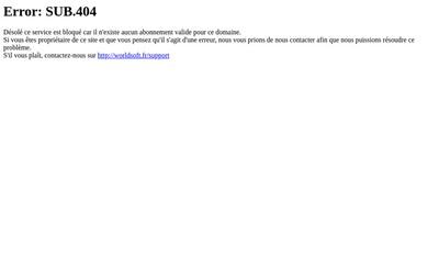 Site internet de Boutfil