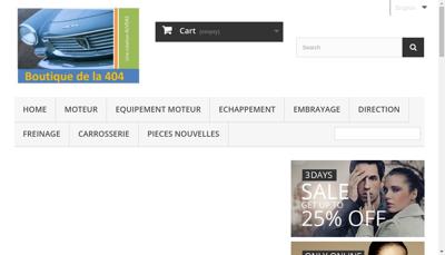 Capture d'écran du site de Alveas