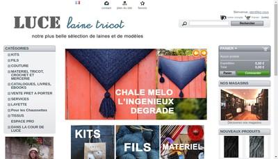 Site internet de La Cour de Luce