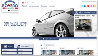 Capture d'écran du site de Road 66