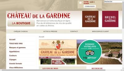 Site internet de Brunel Pere et Fils