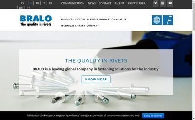 Site internet de Bralo France