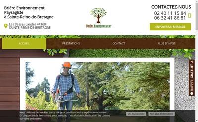 Site internet de Briere Environnement