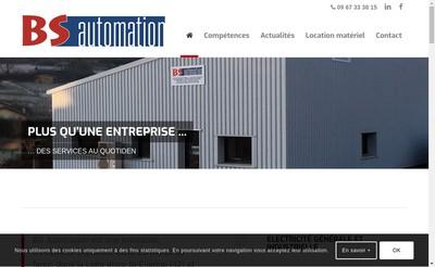 Site internet de Bz Automation