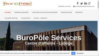 Site internet de Buropole Services