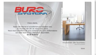 Site internet de Buro System SARL