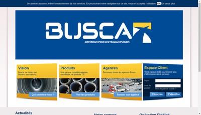 Site internet de Busca