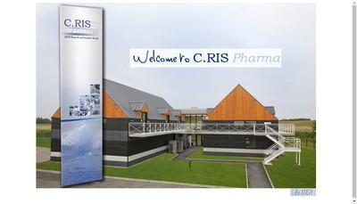 Site internet de C Ris Pharma