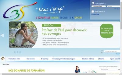 Site internet de C3S Formation, C3S Edition