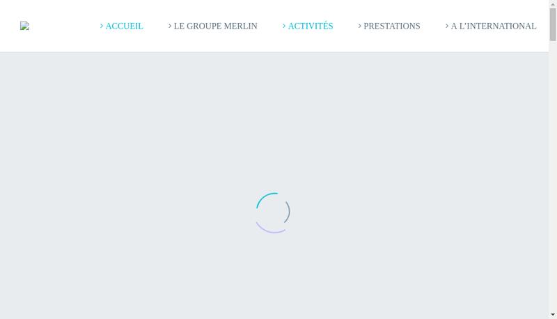 Capture d'écran du site de Cabinet Bourgois