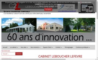 Site internet de Cabinet Leboucher Lefevre