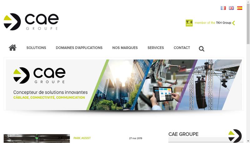Capture d'écran du site de S 2 Ceb Cae Cae-Groupe