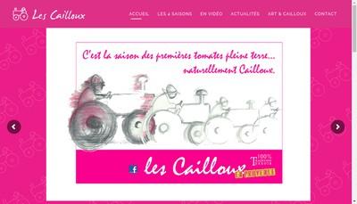 Site internet de Les Petits Cailloux