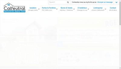 Site internet de Etablissements Calfeutral