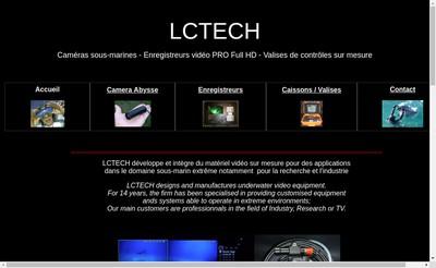 Site internet de LC Tech