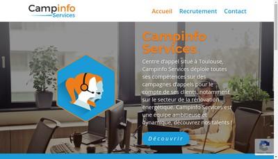 Site internet de Campinfo Services