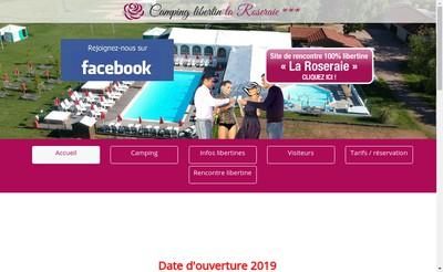 Site internet de De la Roseraie