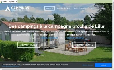 Site internet de Camping de l'Image