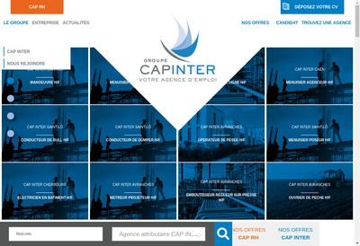 Site internet de Cap Inter