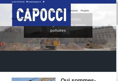 Site internet de Capocci