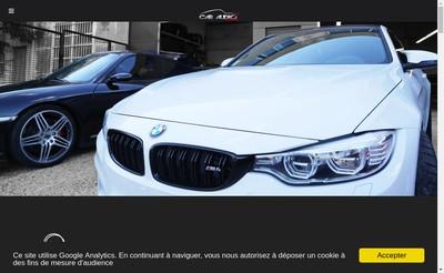 Site internet de Car Audio Tuning