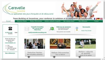 Site internet de Caravelle