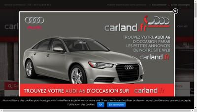 Site internet de Car Land