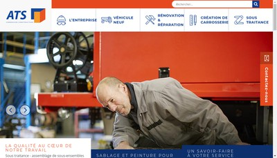 Site internet de Atlantic Trucks Services