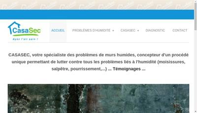 Site internet de CASASEC
