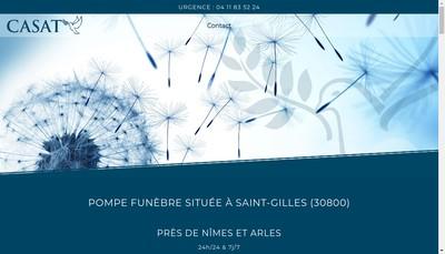 Site internet de Pompe Funèbre