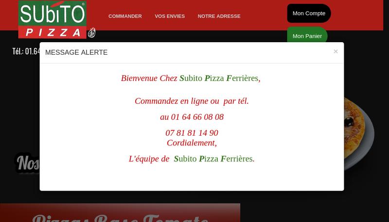 Capture d'écran du site de Cazasubito