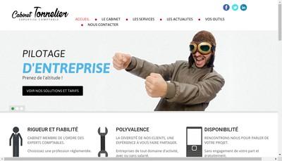 Site internet de Cabinet Benoit Tonnelier