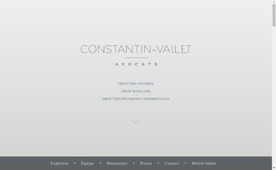 Site internet de Constantin-Vallet